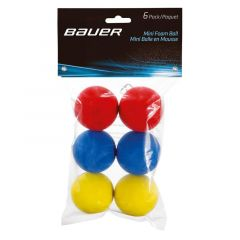 Bauer MINI BALLS 6 Pack Kamuolys