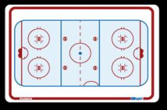 Berio De Poche Hockey 10x15 Tactics Board