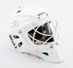WALL W7H Cat Eye white Senior Goalie Mask