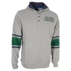 Bauer STRIPE HENLEY PO HOODY Senior Sweater