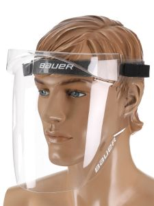 Bauer Integrated Cap Face Shield Face Mask