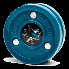 Green Biscuit NHL San Jose Sharks Puck