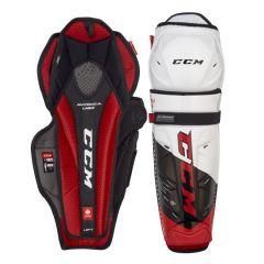 CCM JetSpeed FT4 PRO Junior Ice Hockey Shin Guards
