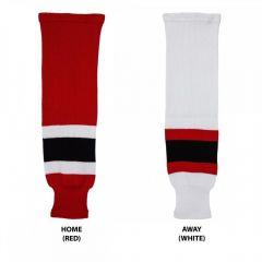 Hockey Socks Knit New Jersey Devils Senior