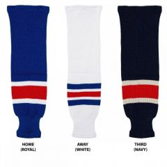 Hockey Socks Knit New York Rangers Senior