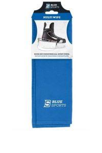 Blue Sports Quick Dry Microfiber Blue Towel
