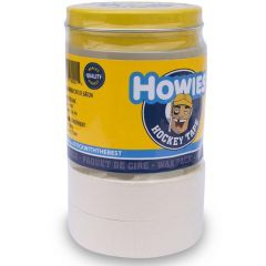 Howies WAX Pack 5 (3-Clear/2-White) Hockey Tape